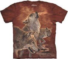 Herren-T-Shirts mit Wölfen The Mountain