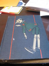 Pinocchio Collodi 1929 Walt Disney production book for film Signed with notes
