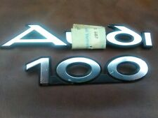 Audi 100 C2 Typ 43 NOS Schriftzug 431853687 431853741 431 853 687 431 853 741