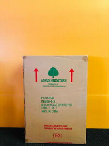 Aspen Chateau de Vin I85-343 3 Shelves, Home Office Open Hutch. New!
