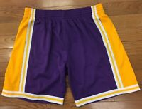 Los Angeles Lakers Mitchell & Ness NBA Swingman Shorts
