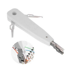 Punch Down Tool Brit Telecom Phone Cable Cat5 Rj11 Rj45 Network Wire Cutter