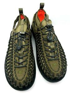Keen NEW Dark Olive UNEEK HT Mens Sneaker Lightweight Mesh US 10.5 11 Authentic
