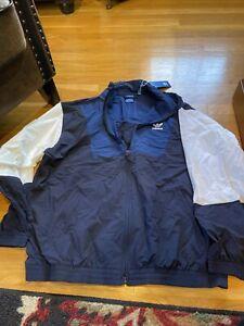 NWT Mens Adidas Originals Windbreaker Size XL