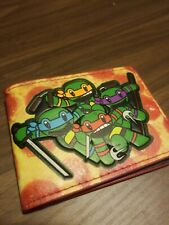 Teenage Mutant Ninja Turtles (Tmnt) Classic Wallet -New Nickelodeon
