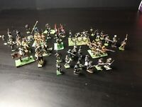 Job lot- Mixed 25mm Napoleonic War Games metal painted Figurines.
