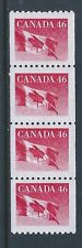 Canada #1695i Wide Spacing Perforation Jump Coil Strip of 4 MNH *Free Shipping*