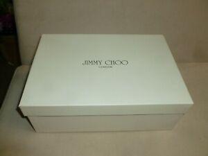 Lovely Jimmy Choo London womens soft cream shoe box