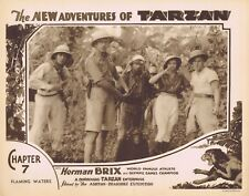 NEW ADVENTURES OF TARZAN 1935 Herman Brix Chapter 7 VINTAGE SERIAL Lobby Card 5