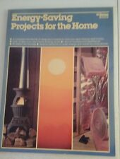 Energy-Saving Projects For The Home: Ortho BookS - 1980 by William A. Henkin (Au