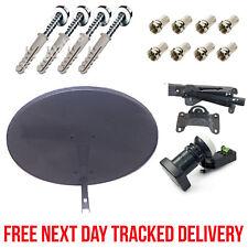 4 WAY QUAD LNB MINI DISH KIT - ZONE 1 MK4 SKY DIGITAL SATELLITE + FIXINGS