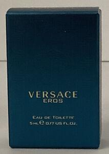 Versace Eros Eau de Toilette For Men 0.17 fl oz