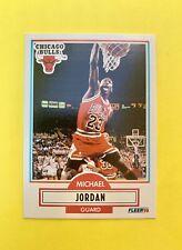 🔥VINTAGE 1990-91 MICHAEL JORDAN FLEER CARD #26 VG to Near-Mint Iconic Slam🔥