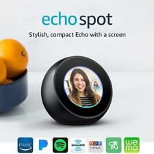 NEW SEALED AMAZON Echo Spot Video Home Assistant 2.5