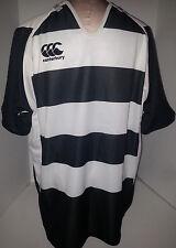 CCC Canterbury Challenge New Zealand Rugby Jersey 3XL XXXL Mens Black & White