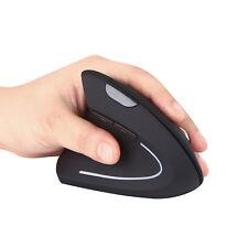 1600 DPI E32 Left-Handed Wireless 2.4G USB Left Hand Ergonomic Vertical Mouse