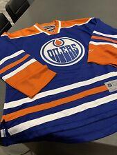 New Edmonton Oilers Jersey Size L