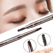 1PCS Double Headed Eyebrow Pencil Long Lasting Pen Brush Waterproof Cosmetics