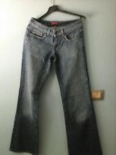 jeans da donna marca indian rose,larghi a zampa,taglia 28
