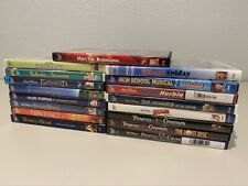Disney Lot of 17 Movies DVDs Lion King, Sleeping Beauty, Beauty and the Beast