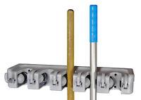 Gerätehalter bis zu 11st Geräteleiste Besenhalter Werkzeugleiste Gerätehalterung
