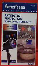 Americana projection whirl-a-motion light new in box