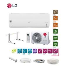 LG Standard S09EQ R32 2,5kW Klimaanlage Inverter Wärmepumpe + Montageset