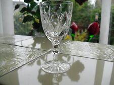 Vintage Webb Corbett Crystal / Cut Glass, Sherry / Port Glass, Dated 1967,
