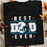 Miami Dolphins Best dad ever father's day gift tshirt