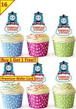 32 THOMAS THE TANK ENGINE Cup Cake Fairy Edible Wafer Rice Toppers *STAND UP*