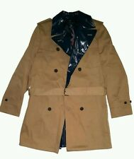 Tommy Hilfiger Mens Runway Collection Men's Peacoat Khaki/Navy Size 48 NWT