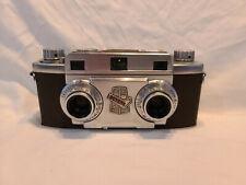 Revere Stereo 33 35mm Film Camera w Wollensak Amaton 35mm Lens - Working V17