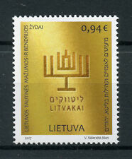 Lithuania 2017 MNH Jews Ethnic Minorities & Communities 1v Set Cultures Stamps
