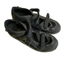 Merrell Crystal Black Size 7.5 Womens Shoes J82278 Hook Loop Hiking Walking