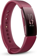 NEW & SEALED Fitbit Inspire Fitness Tracker Sangria Red