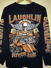 Laughlin River Run Nevada Biker Club Long Sleeve Size M