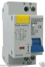 """Magnetotermico Differenziale 4500A 1P+N C 16A TIPO AC 300mA (0,3A)  COMTEC"