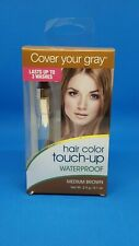 Cover Your Gray Waterproof Hair Color Touch-Up Medium Brown 0.1oz NIB
