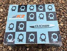 K2 Magma Klicker Silber Hochlehner Snowboard Bindings 6257