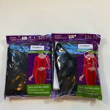 Lot Of TWO New In Package Size XL Thermal Long Underwear Microfleece Sets