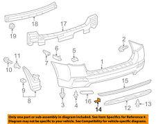 TOYOTA OEM Exterior-Cover Retainer 7539235220
