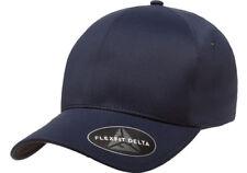180 FLEXFIT DELTA CAP MULTIPLE COLOURS -Black Red Silver Dark Navy