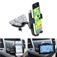 360° Car Holder CD Slot Mount Bracket For Mobile Cell Phone iPhone Samsung LWX