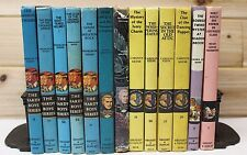 1957~Children's Adventure~Mystery Vtg 13 Blue/Yellow/Pink book lot~Hardy Boys+