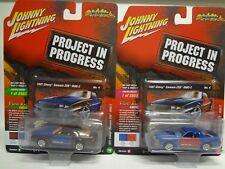 Johnny Lightning 1987 Chevy Camaro Z28 IROC-Z PiP Set of 2 JLSF008 A&B - 18Q