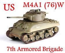 Easy Model 1/72 U.S Army M4A1(76)W Sherman Tank 7th Armored Brigade #36249