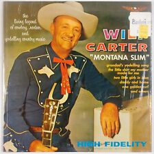 WILF CARTER: Montana Slim USA STARDAY '64 Country Classic SHRINK VG++ LP
