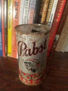 Pabst Bock 12oz Flat Top Beer Can  OI & IRTP