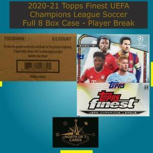 Erling Haaland - 2020-21 Topps Finest UEFA Champions League Case Break #3