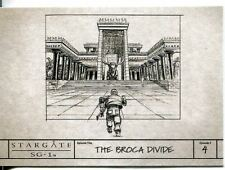 Stargate SG1 Season 9 Production Sketches Chase Card S3